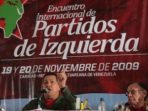 Hugo Chavez calls for the creation of the V International