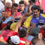 Maduro meets the crowds