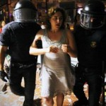 Ada Colau arrested for having helped resisting an eviction in Barcelona
