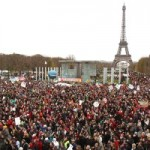 The 'Alternatiba' demo in Paris, 12.12.2015