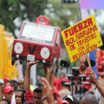The 'Bolivarian Force' of the taxi drivers.