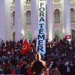 June 10 2016, demo against Temer's gnt