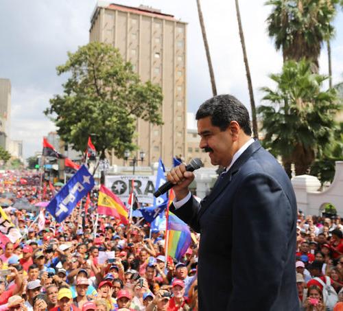 Popular March, Caracas, 26 October 2016