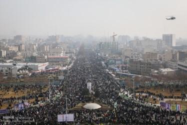 Celebration of the 38 Anniversary of the Iranian Revolution, Teheran 2017