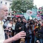 Jeremy Corbyn campaigns for the 8 June 2017 elections.