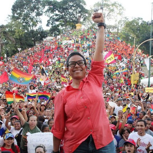Erika Farias, the Mayor of Caracas. Won with 66.17% of the vote cast.