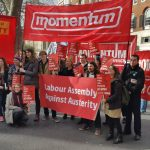 Islington and Camden Momentum campaigning for Jeremy Corbyn 2017