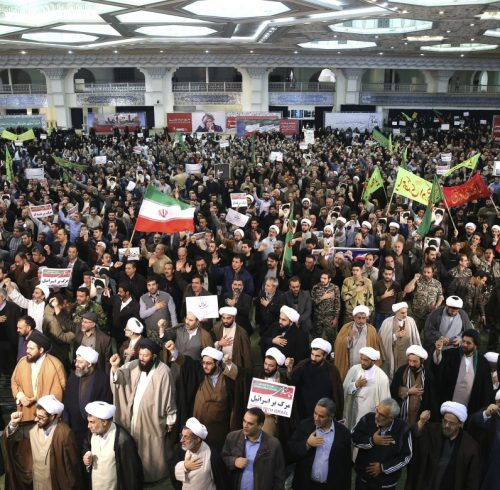 Demonstrations in Iran December 2017-Jan 2018