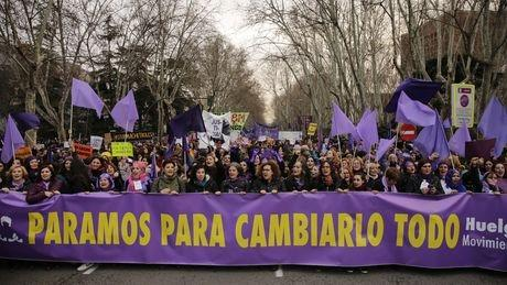International Women Strike Day in Spain, 8.3.18