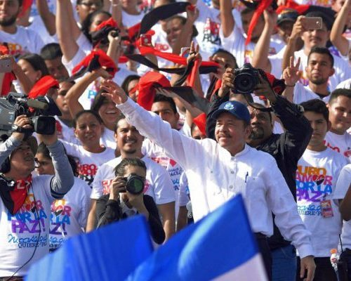 The masses of Nicaragua celebrate the 39th anniversary of the Sandinista Revolution
