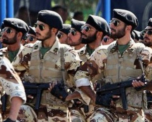 The Revolutionary Guards of Iran.