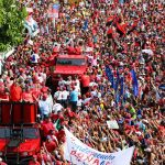 Maduro Campaigns in the Presidential Elections