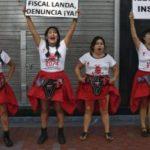 Victims of the Fujimori's forced sterilisation programme in Peru