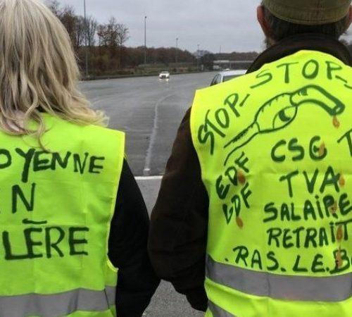 Yellow Vests in Paris 2018