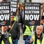 Demonstration in support of Corbyn, London, 12.1.2019
