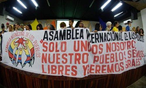 AsembleaInternacionadeLosPueblos, 28.3.19