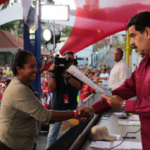 Maduro hands over Property Deeds for collective organisation, May 2018.
