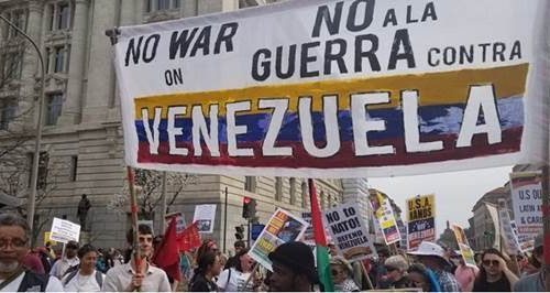 No To War on Venezuela