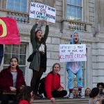 Young people against Global Warming, speculation on Oil, and Climat Change