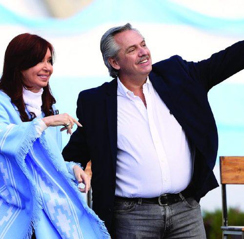 Cristina Fernandez and Alberto Fernandez