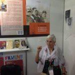 """The ECCP stand presents the book by J Posadas: """"El Marxismo, su vigencia en la construccion del socialismo""""."""