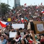 Demonstration in Chile against the Pinera government, 28.10.11
