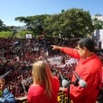 2.3 million Venezuelans take part in the call to mobilise militarily, 15.2.20