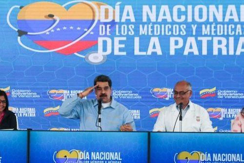 National Medics Day, Caracas, 30.03.20
