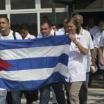Cuban doctors arrive in Italy to help the fight against Covid 19.
