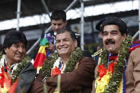 Rafael Correa, Evo Morales and Nicolas Maduro rejoice following Gran Polo victory in mid-term 6.12.2020 elections